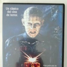 Hellraiser - Clive Barker - Andrew Robinson - New world pictures - Filmax