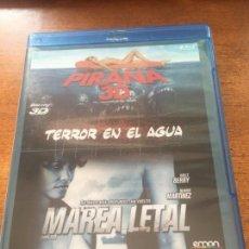 Cinema: TERROR EN EL AGUA PIRAÑA 3D Y MAREA LETAL. Lote 145885418