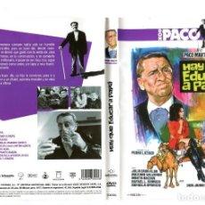 Cine: HAY QUE EDUCAR A PAPÁ, CON PACO MARTÍNEZ SORIA. DVD.. Lote 145911006