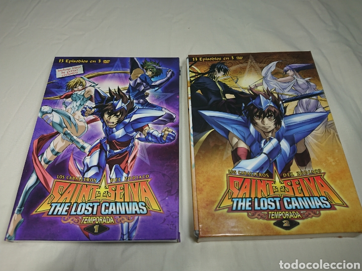 CABALLEROS DEL ZODIACO - SAINT SEIYA - THE LOST CANVAS TEMPORADA 1 Y 2 EN 6 DVDS (Cine - Películas - DVD)
