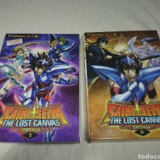 Cine: CABALLEROS DEL ZODIACO - SAINT SEIYA - THE LOST CANVAS TEMPORADA 1 Y 2 EN 6 DVDS. Lote 145931592