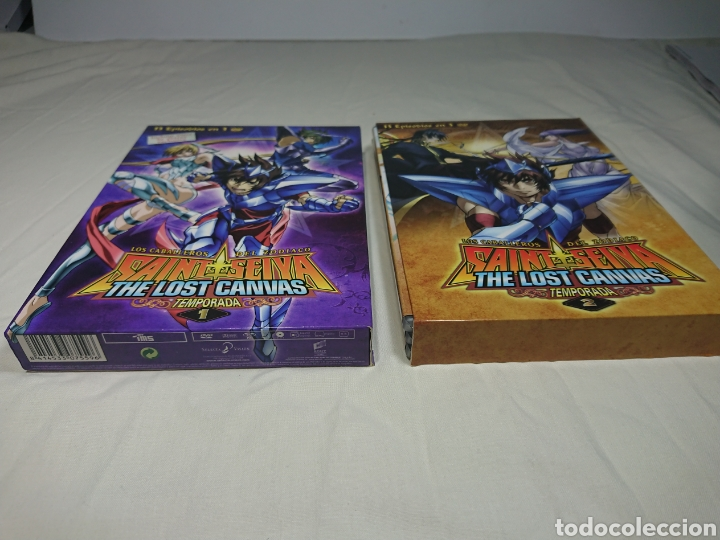 Cine: Caballeros del Zodiaco - Saint Seiya - The Lost Canvas Temporada 1 y 2 en 6 Dvds - Foto 2 - 145931592
