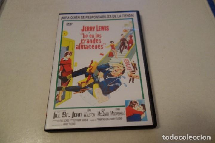 JERRY LEWIS . LIO EN LOS GRANDES ALMACENES. (Cine - Películas - DVD)