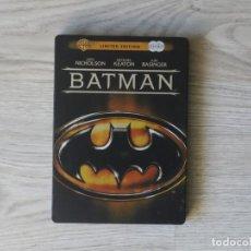 Cine: BATMAN - TIM BURTON - EDICION LIMITADA - 2DVD. Lote 146077914