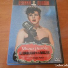 Cine: DVD-DIANA DURBIN EL DIABLILLO YA ES MUJER. Lote 146115438