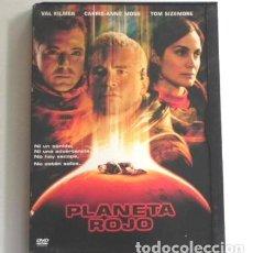 Cine: PLANETA ROJO - DVD PELÍCULA CIENCIA FICCIÓN - VAL KILMER C-A MOSS SISEMORE - HOFFMAN MARTE COLONIZAR. Lote 146129678