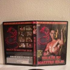 Cine: DVD ORIGINAL - SHAOLIN MAESTRO ROJO - ARTES MARCIALES - KUNG FU - TOMMY LEE. Lote 146184010