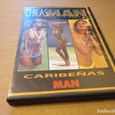 Cine: CHICAS MAN CARIBEÑAS 1 DVD USADO. Lote 146232686