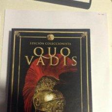 Cine: QUO VADIS - EDICION COLECCIONISTA 2 DVD + FOTOS + LIBRETO. Lote 68426605
