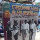 Cine: CRÓNICAS DE UN PUEBLO.SERIE DE TVE AÑOS 70.5 DVD CON SUS 20 MEJORES CAPÍTULOS.ANTONIO MERCERO.. Lote 146348274