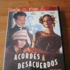 Cine: DVD ACORDES Y DESACUERDOS. WOODY ALLEN.. Lote 146348394