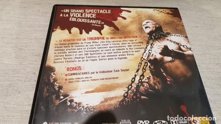 Cine: 300 / DVD DE LUJO / EDICIÓN FRANCESA / FRANCÉS - INGLÉS. - Foto 3 - 146403306