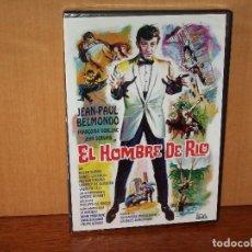 Cinema: EL HOMBRE DE RIO - JEAN-PAUL BELMONDO - DE PHILIPPE DE BROCA - DVD NUEVO PRECINTADO. Lote 146414298
