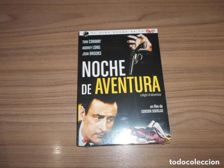 NOCHE DE AVENTURA EDICION ESPECIAL DVD + LIBRO 24 PAG. TOM CONWAY NUEVA PRECINTADA (Cine - Películas - DVD)