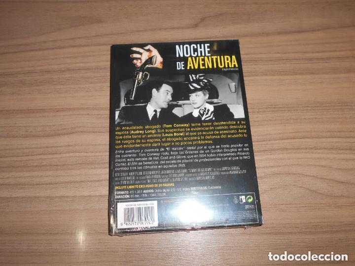Cine: NOCHE de AVENTURA Edicion Especial DVD + LIBRO 24 Pag. TOM CONWAY Nueva PRECINTADA - Foto 2 - 146571421