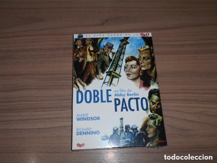 DOBLE PACTO EDICION ESPECIAL DVD + LIBRO 24 PAG. MARIE WINDSOR NUEVA PRECINTADA (Cine - Películas - DVD)