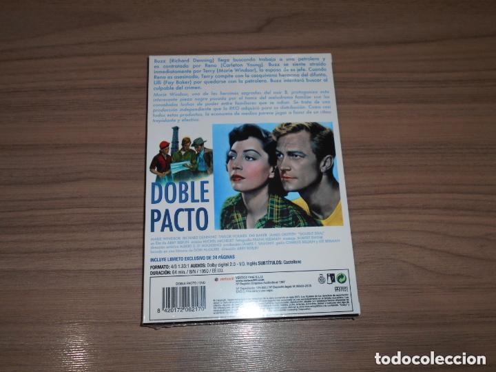 Cine: DOBLE PACTO Edicion Especial DVD + LIBRO 24 Pag. MARIE WINDSOR Nueva PRECINTADA - Foto 2 - 146571454