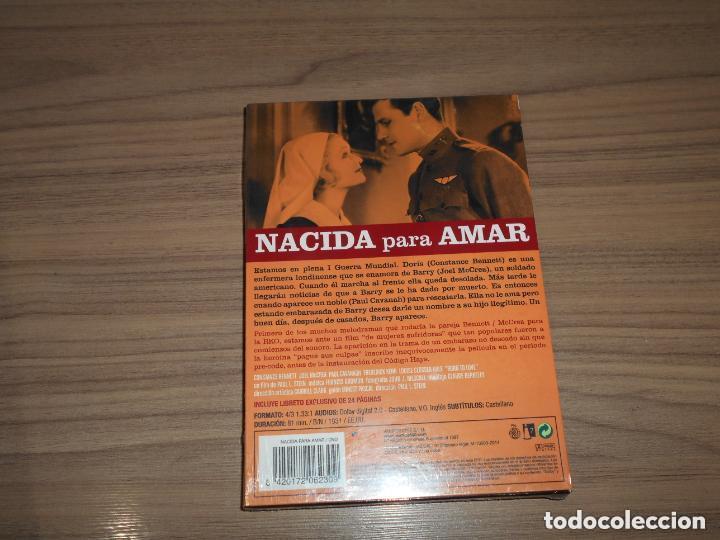 Cine: NACIDA PARA AMAR Edicion Especial DVD + LIBRO 24 Pag. JOEL McCREA Nueva PRECINTADA - Foto 2 - 146571512