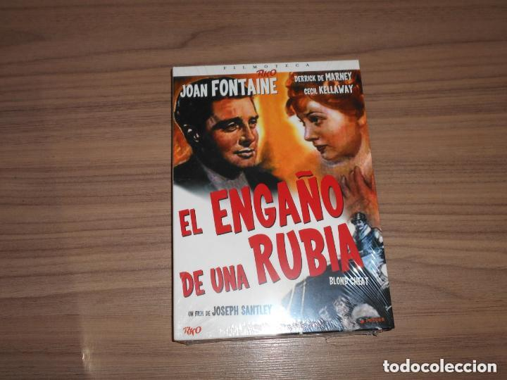 EL ENGAÑO DE UNA RUBIA EDICION ESPECIAL DVD + LIBRO 24 PAG. JOAN FONTAINE NUEVA PRECINTADA (Cine - Películas - DVD)