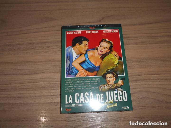 LA CASA DE JUEGO EDICION ESPECIAL DVD + LIBRO 24 PAG. VICTOR MATURE NUEVA PRECINTADA (Cine - Películas - DVD)