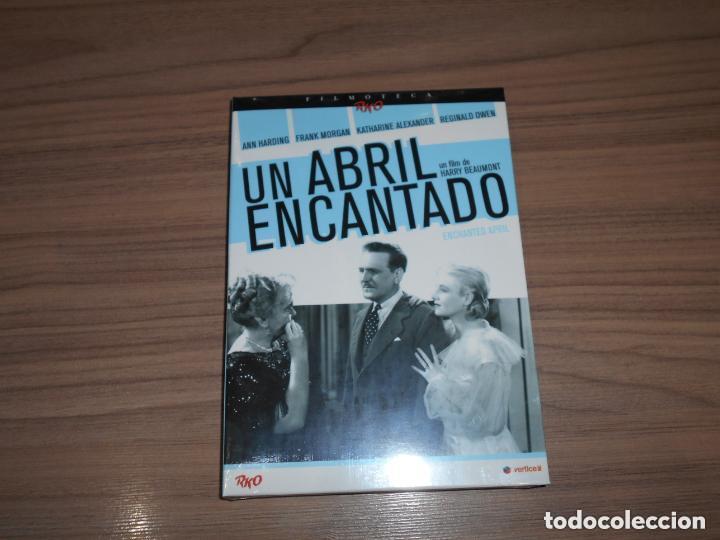 UN ABRIL ENCANTADO EDICION ESPECIAL DVD + LIBRO 24 PAG. ANN HARDING NUEVA PRECINTADA (Cine - Películas - DVD)