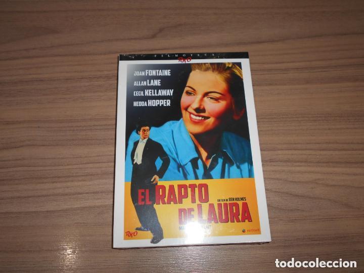 EL RAPTO DE LAURA EDICION ESPECIAL DVD + LIBRO 24 PAG. JOAN FONTAINE NUEVA PRECINTADA (Cine - Películas - DVD)