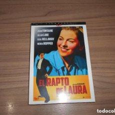Cine: EL RAPTO DE LAURA EDICION ESPECIAL DVD + LIBRO 24 PAG. JOAN FONTAINE NUEVA PRECINTADA. Lote 230555940