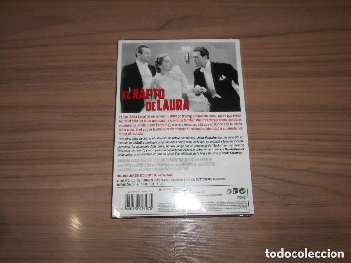 Cine: el RAPTO de LAURA Edicion Especial DVD + LIBRO 24 Pag. JOAN FONTAINE Nueva PRECINTADA - Foto 2 - 230555940