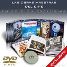 Cine: PACK OBRAS MAESTRAS DEL CINE EN DVD. 10 DIGIBOOKS - VARIOS AUTORES DESCATALOGADO!!!. Lote 146519074