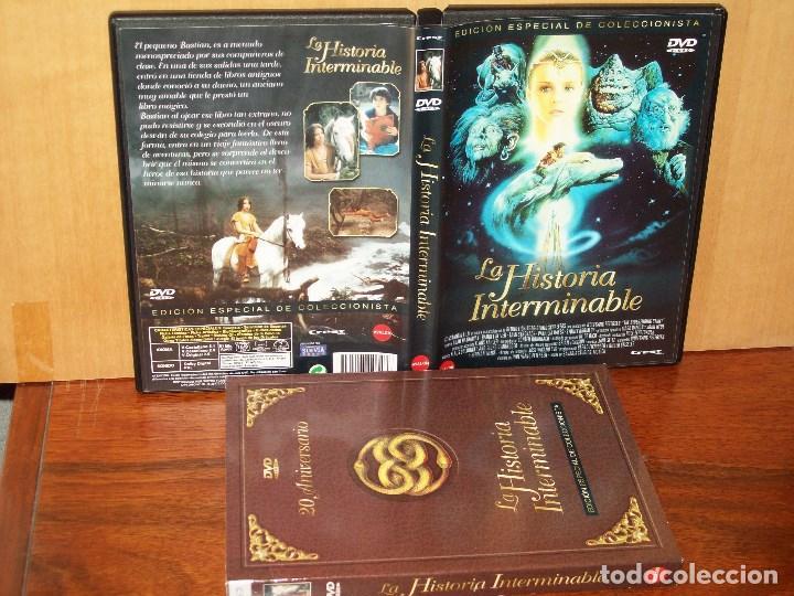 LA HISTORIA INTERMINABLE - DIRIGIDA POR WOLFGANG PETTERSEN - DVD EDICION ESPECIAL 20 ANI (Cine - Películas - DVD)