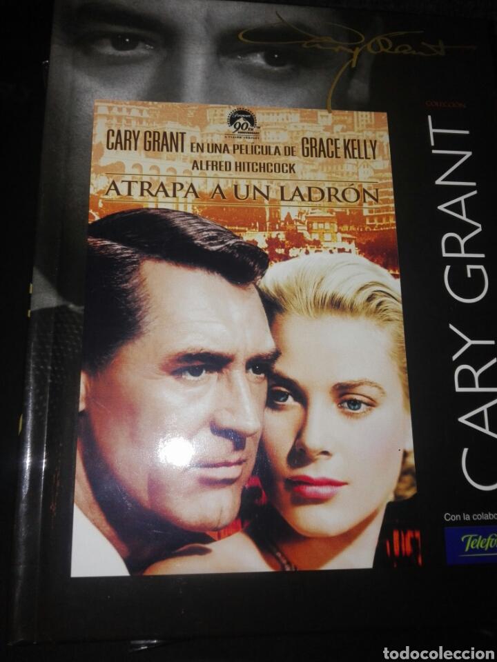 DVD + LIBRO ATRAPA A UN LADRON COLECCIIN CARY GRANT (Cine - Películas - DVD)