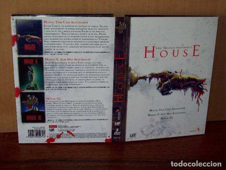 HOUSE UNA TRILOGIA ALUCINANTE - TRIPLE DVD EDICION ESPECIAL (Cine - Películas - DVD)