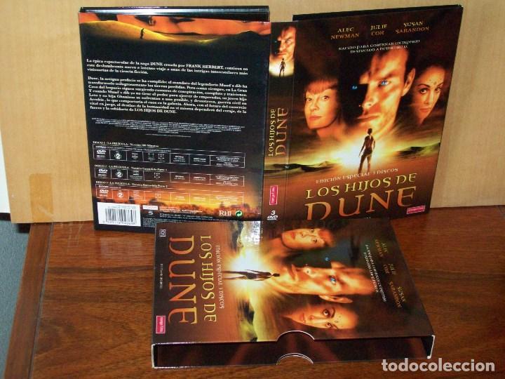LOS HIJOS DE DUNE - ALEC NEWMAN - JULIE COX - SUSAN SARANDON- DE GERG YAITANES - DVD (Cine - Películas - DVD)