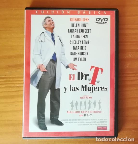 EL DR. T Y LAS MUJERES -DVD- RICHARD GERE, HELEN HUNT, FARRAH FAWCETT, ROBERT ALTMAN... (Cine - Películas - DVD)