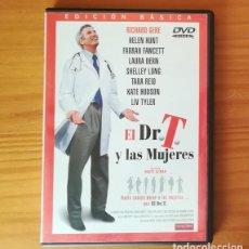 Cine: EL DR. T Y LAS MUJERES -DVD- RICHARD GERE, HELEN HUNT, FARRAH FAWCETT, ROBERT ALTMAN.... Lote 146612214