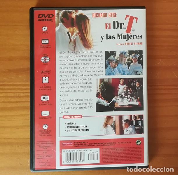 Cine: EL DR. T Y LAS MUJERES -DVD- RICHARD GERE, HELEN HUNT, FARRAH FAWCETT, ROBERT ALTMAN... - Foto 2 - 146612214