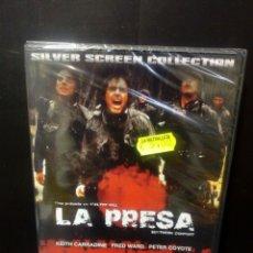 Cine: LA PRESA DVD. Lote 146618342