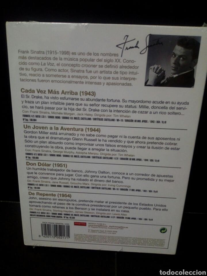 Cine: Frank Sinatra DVD - Foto 2 - 146624106