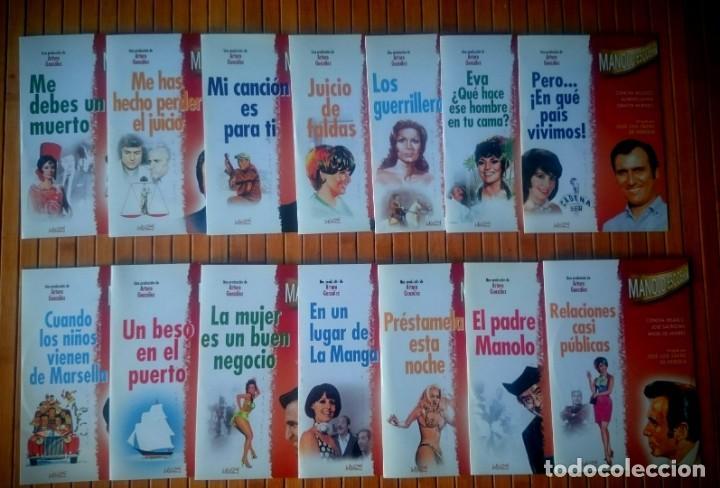 PELÍCULAS DE MANOLO ESCOBAR - 14 DVDS (Cine - Películas - DVD)