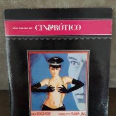 Cine: EL PORTERO DE NOCHE, DE LILIANA CAVANI, CON DIRK BOGARDE Y CHARLOTTE RAMPLING. Lote 146649886
