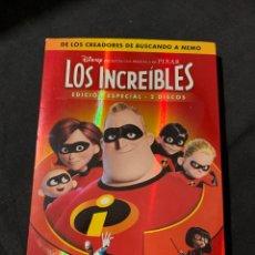 Cine: ( S78 ) LOS INCREÍBLES ( DVD SEGUNDA MANO ). Lote 149858338