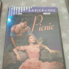 Cine: DVD. PICNIC. PRECINTADO. CON KIM NOVAK.. Lote 146915237