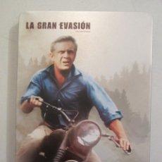 Cine: DVD LA GRAN EVASIÓN CAJA METÁLICA. Lote 146922158