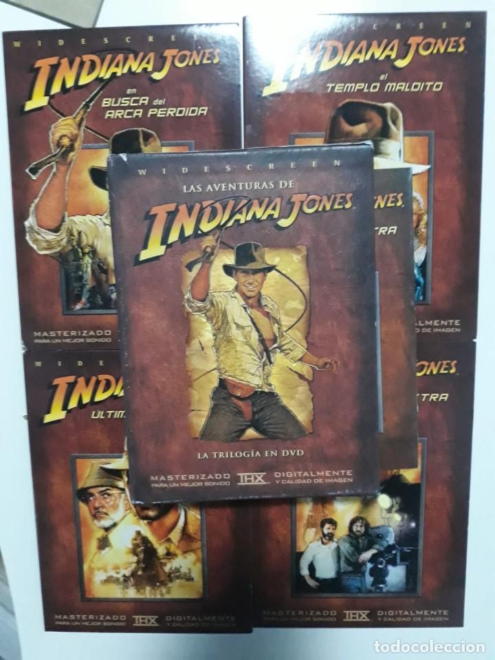 TRILOGÍA LAS AVENTURAS DE INDIANA JONES EN DVD. ( 4 DVD´S ) (Cine - Películas - DVD)