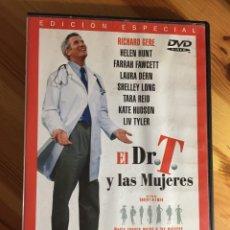 Cine: DVD EL DR. DOCTOR T Y LAS MUJERES RICHARD GERE HELEN HUNT FARRAH FAWCETT LAURA DERN EDICION ESPECIAL. Lote 146968974