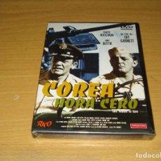 Cine: COREA HORA CERO (ONE MINUTE TO ZERO) ROBERT MITCHUM AÑO 1952. MANGA FILMS. 8420172037239. PRECINTADO. Lote 147073654