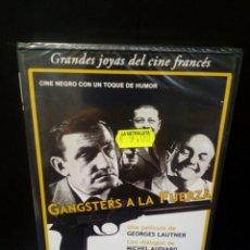 Cine: GÁNGSTERS A LA FUERZA DVD. Lote 147365104