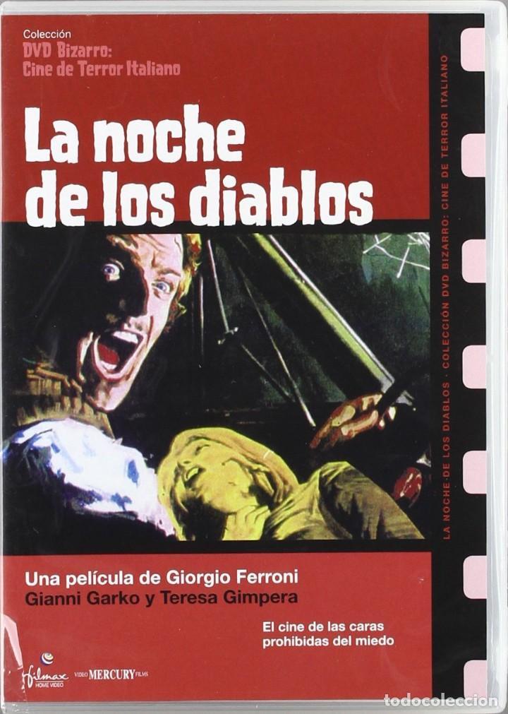 LA NOCHE DE LOS DIABLOS - GIANNI GARKO - DVD NUEVO (Cine - Películas - DVD)