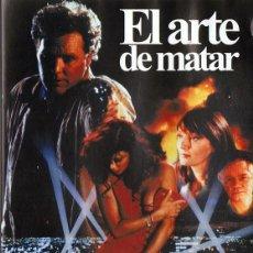 Cine: MUERTE EN HOLLYWOOD (EL ARTE DE MATAR) (1991) THRILLER. Lote 98630379