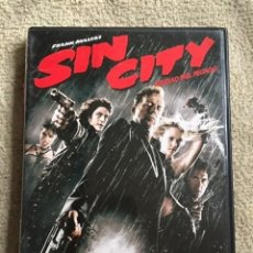Cine: SIN CITY DVD DE ROBERT RODRÍGUEZ CON BRUCE WILLIS Y QUENTIN TARANTINO. Lote 147595702